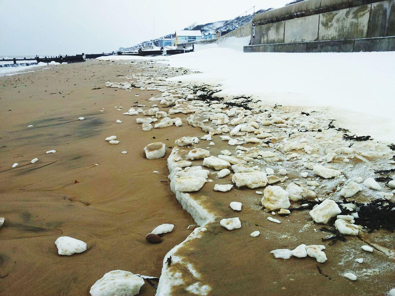 Frinton on Sea First Eyeem Photo Seaside Snow Beach Frinton-on-Sea Frinton