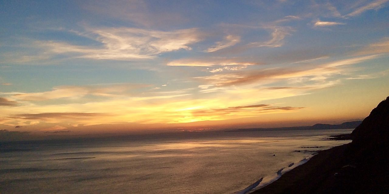 Beautiful Sunset - Beachphotography - Sun - Sunset - Eye4photography  - Landscapes - Water Reflections - Sea - Natural Beauty - The Art Of Photography