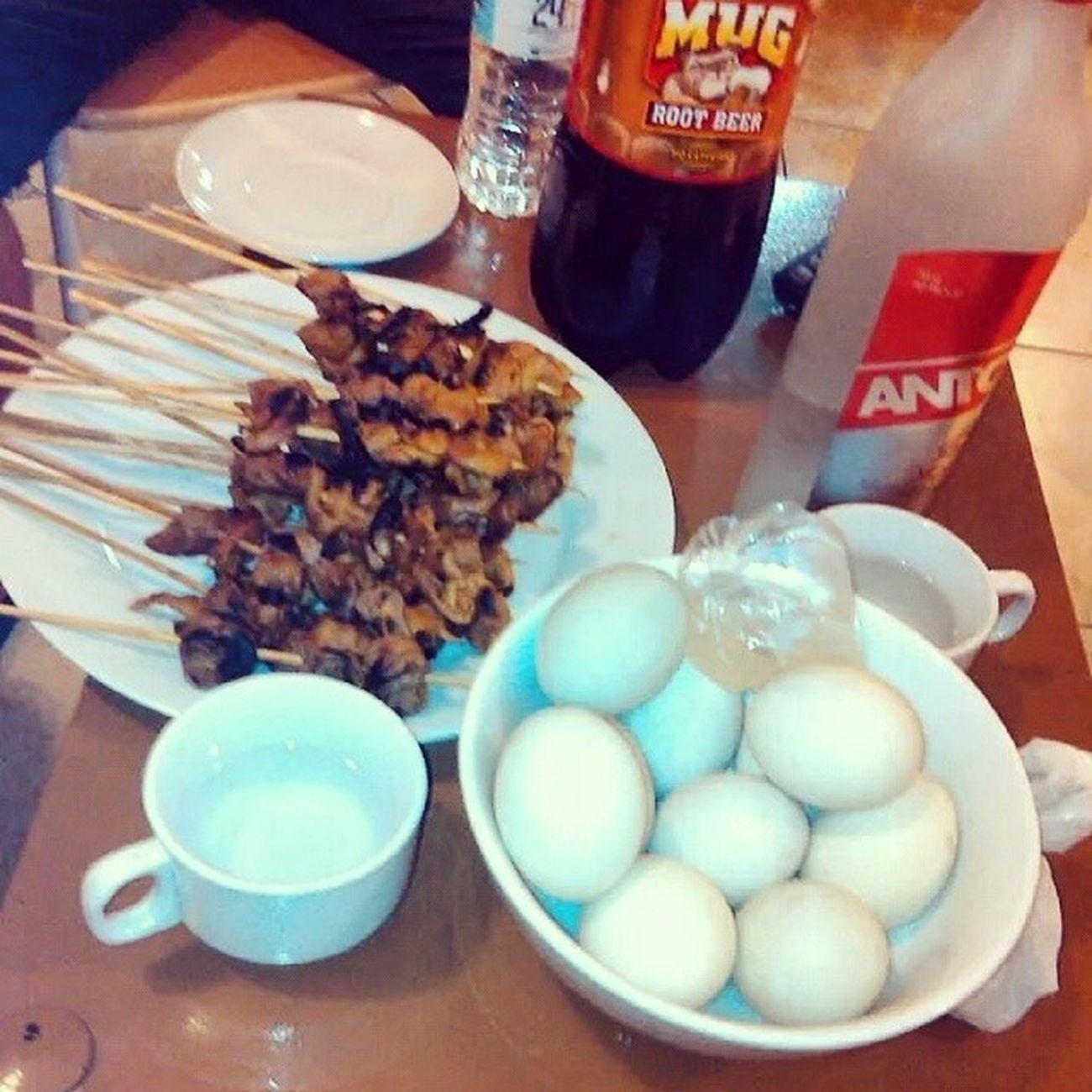 pulutanPagkaingpinoy Isaw Penoy na higopBalot Streetfood