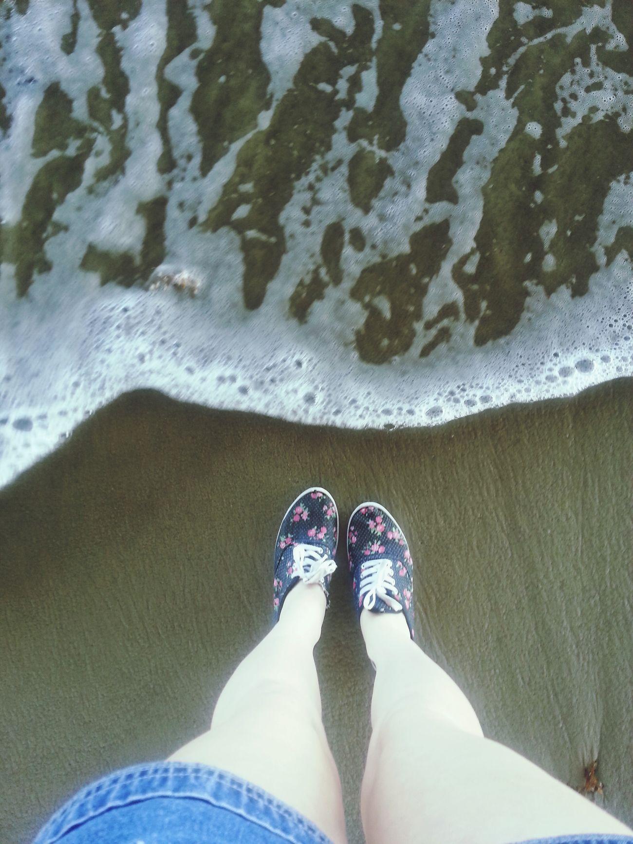 My white legs