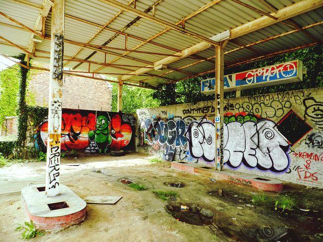 Doel Abondoned Abondened Places Grafitti Old
