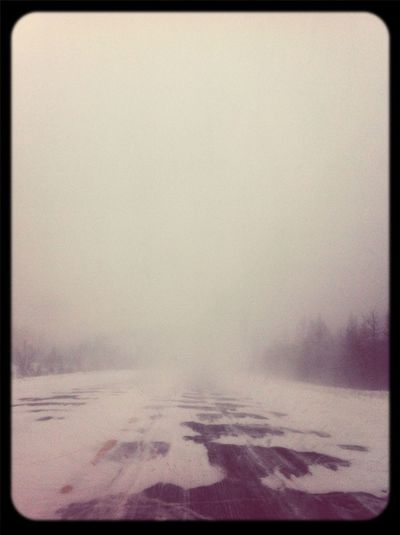 Where Is The Road---> Snowstorm Snowy Days...