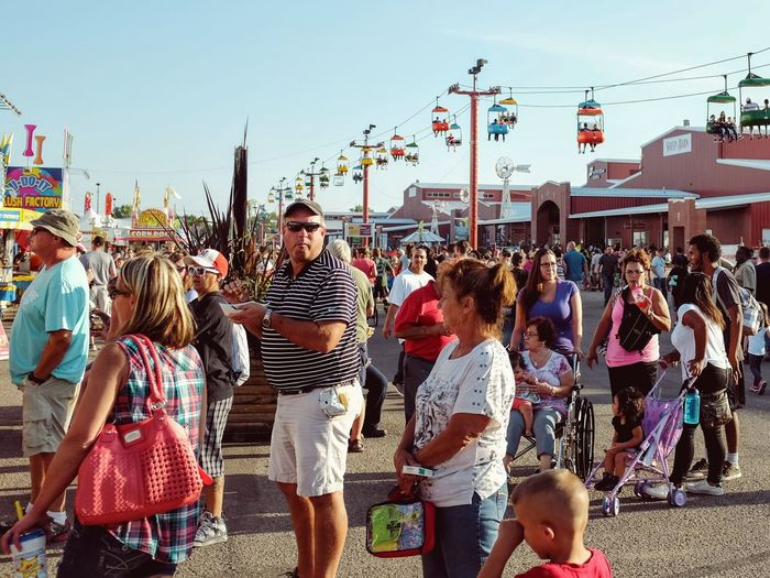 Nebraska State Fair - Grand Island, Nebraska August 2016 Americans Camera Work Carnival Check This Out Color Photography Composition Crowd Culture Cultures EyeEm Gallery Fairground Getty Images Large Group Of People Lifestyles MidWest Nebraska Photo Essay Photojournalism Selects Skylift State Fair Street Photography Streetphotography Vacations Where Do You Swarm?