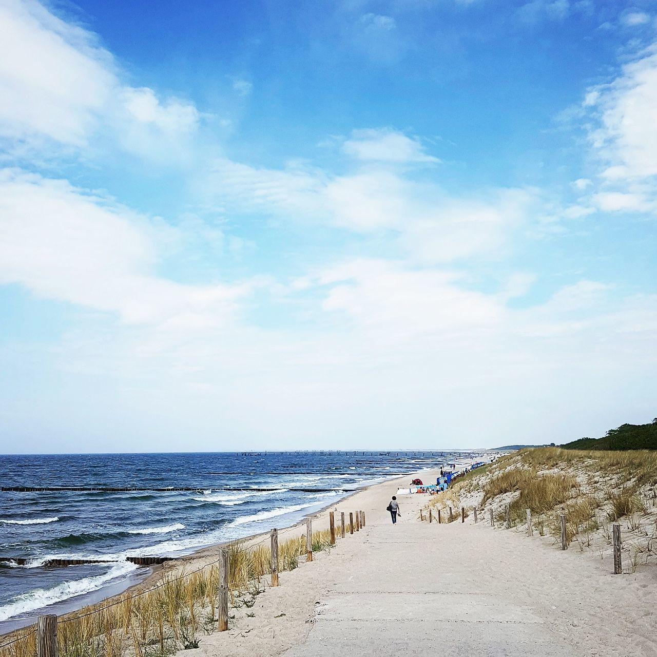 Baltic Sea Summer Sand Clouds Ostsee Sea Meer Sommer Wolken Himmel Heaven Ways Himmel