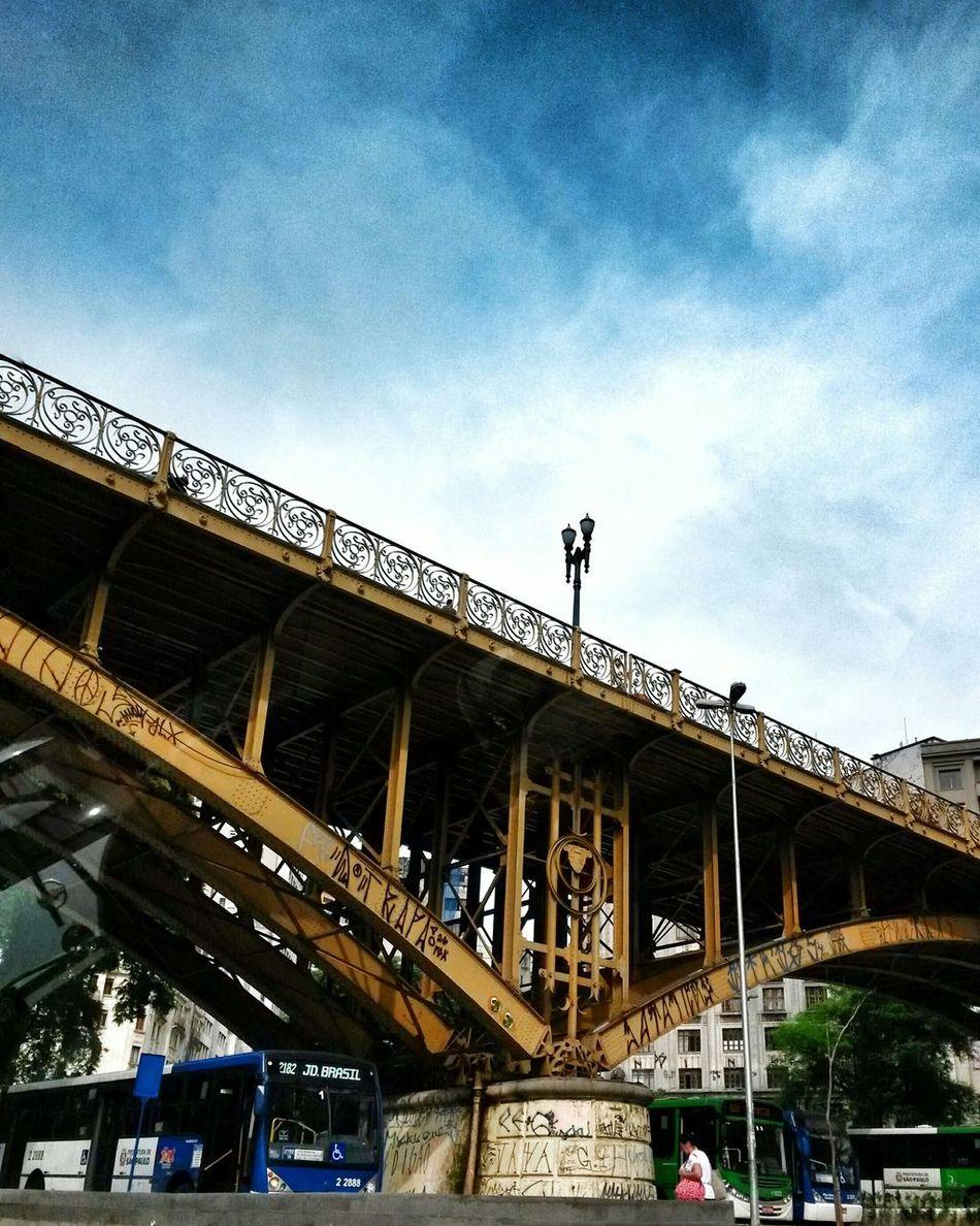 Bridge Viadutodocha Saopaulocity Downtown Bridgeporn