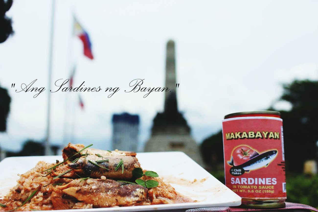"Productendorsement Depthoffield Color Nastygang Mec153PX Cannedgoods Nuartapp ""Ang sardines ng Bayan"""