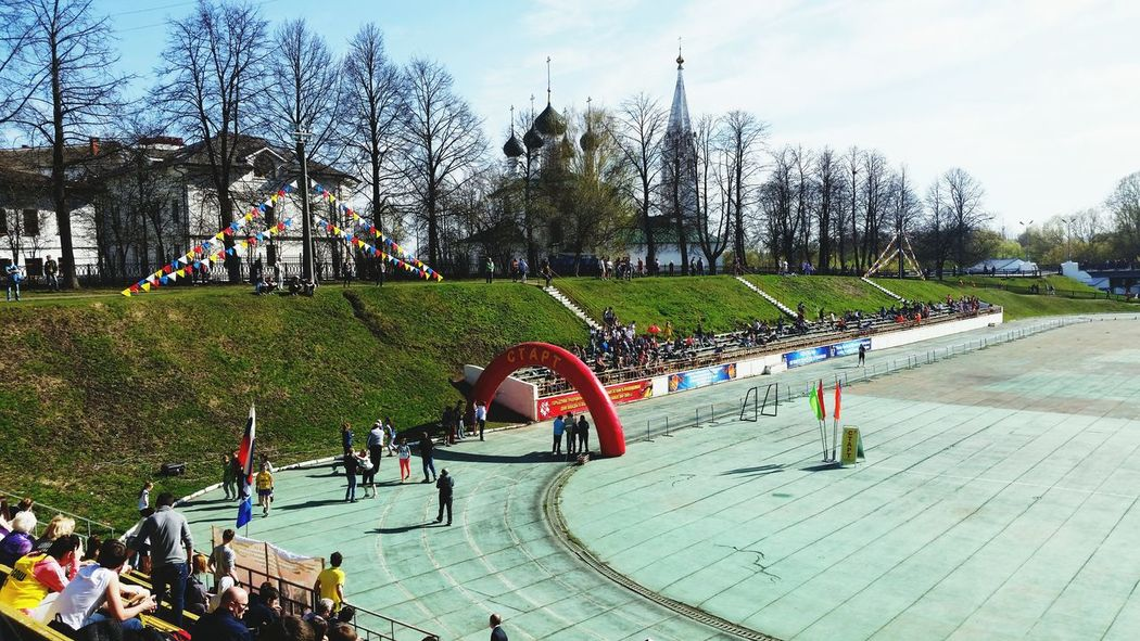 Traditional Sport Relayrace Yaroslavl From My Point Of View