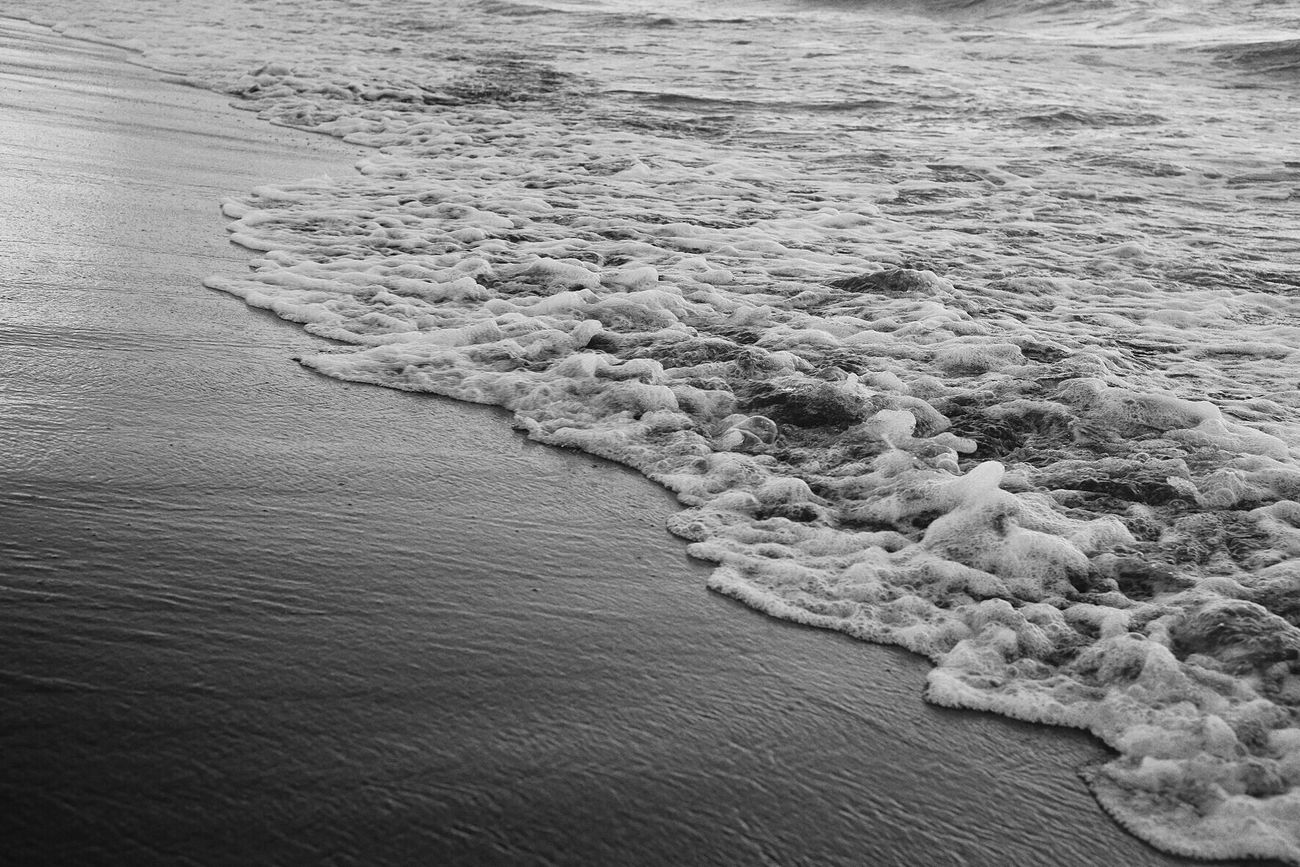 Monochrome Blackandwhite Sea Waves
