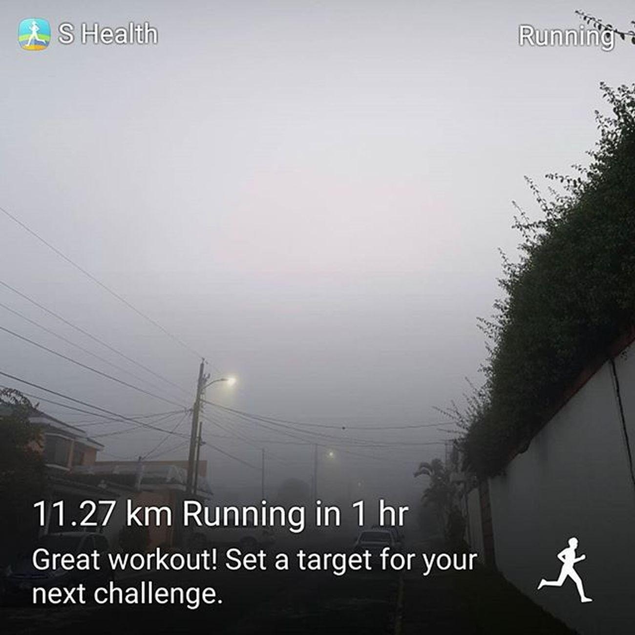 6430Art 6430Life  Guatemala 瓜地馬拉 Shealth Gears Running 跑步 Correr Feliz Happy 快樂 11.27 Kms 公里