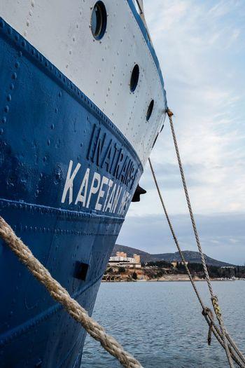 EyeEm Selects Nautical Vessel Ship Transportation Ship's Bow Sea Water Mode Of Transport
