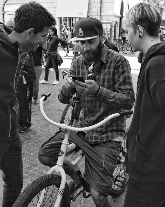 The Street Photographer - 2017 EyeEm Awards Friendship Smart (phone) Generation Streetscene Street Photographer Street Photography Real People Random People The Essence Of Real People People
