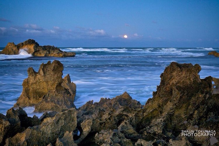 Satellite Moon Twilight Sea And Sky EyeEm Best Shots