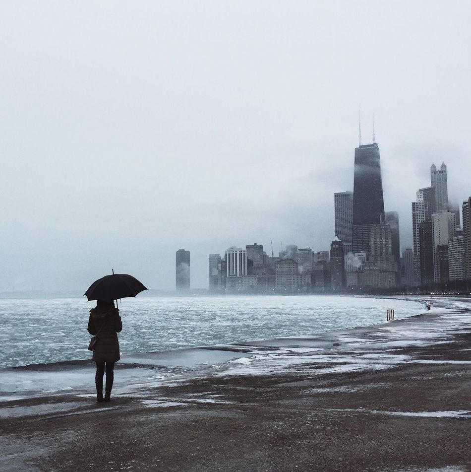 Beautiful stock photos of chicago skyline, Architecture, Beach, Building Exterior, Built Structure