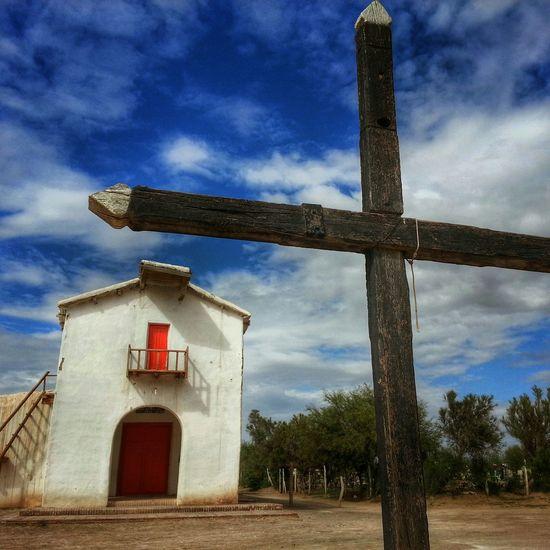 Capilla Nuestra Señora del Rosario, Lagunas de Guanacache Desert Mendoza Argentina Photojournalism Religion Religious  Religious Architecture