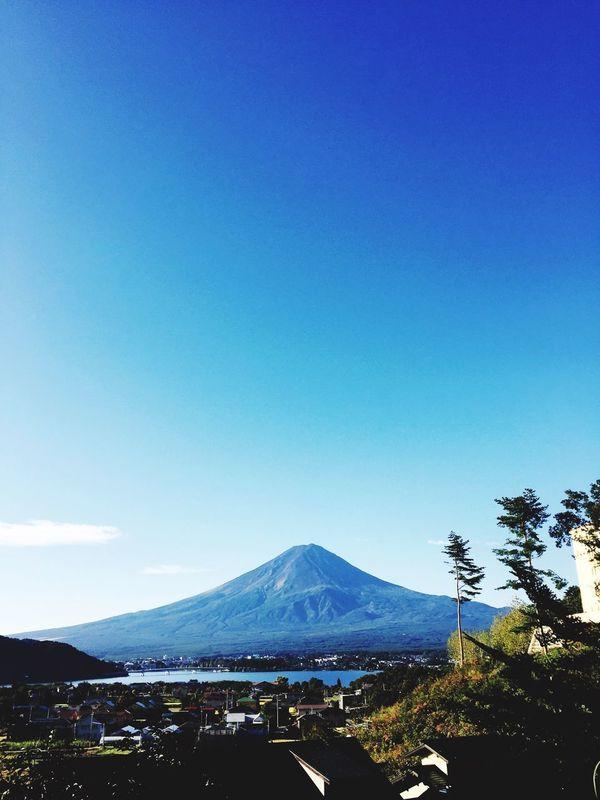 Mt.Fuji Lake 良い天気!