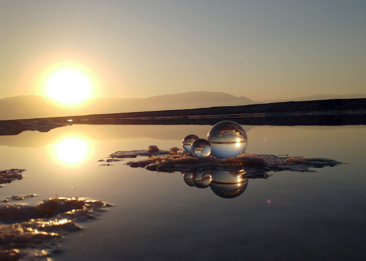 The Great Outdoors - 2017 EyeEm Awards Water Reflection Sun Sea Nature Sunrise Deadsea