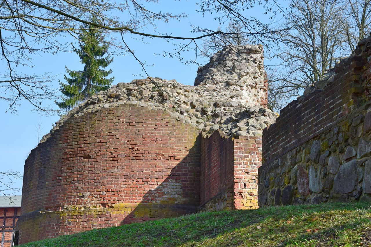 Ancient Ancient Civilization Ancient History Architecture Cultures Day Historical Building History Low Angle View Nature No People Outdoors Ruined Sky Travel Destinations Tree Wasserburg Gerswalde