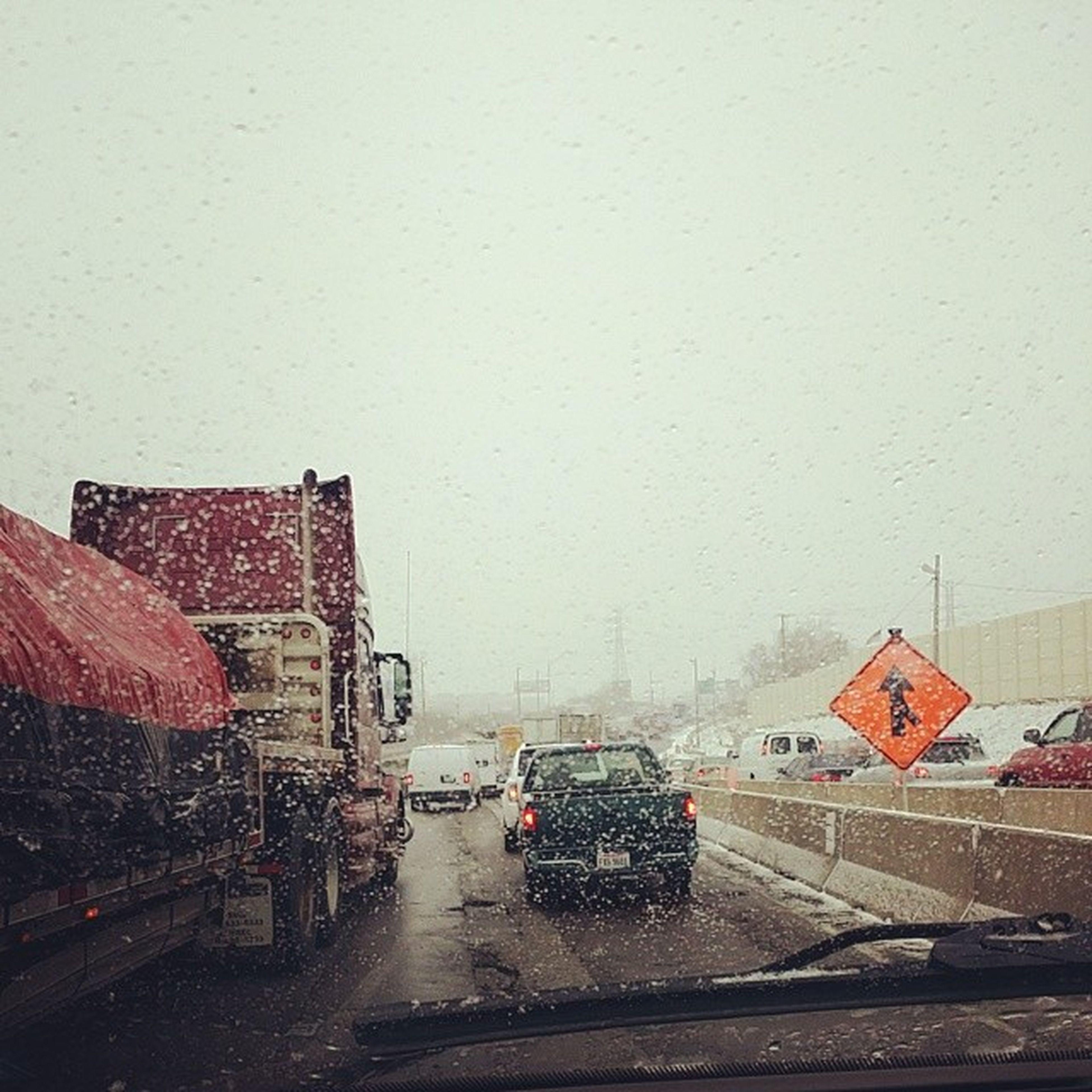 Trafficagedon 2014. Boo Winter Icyashell