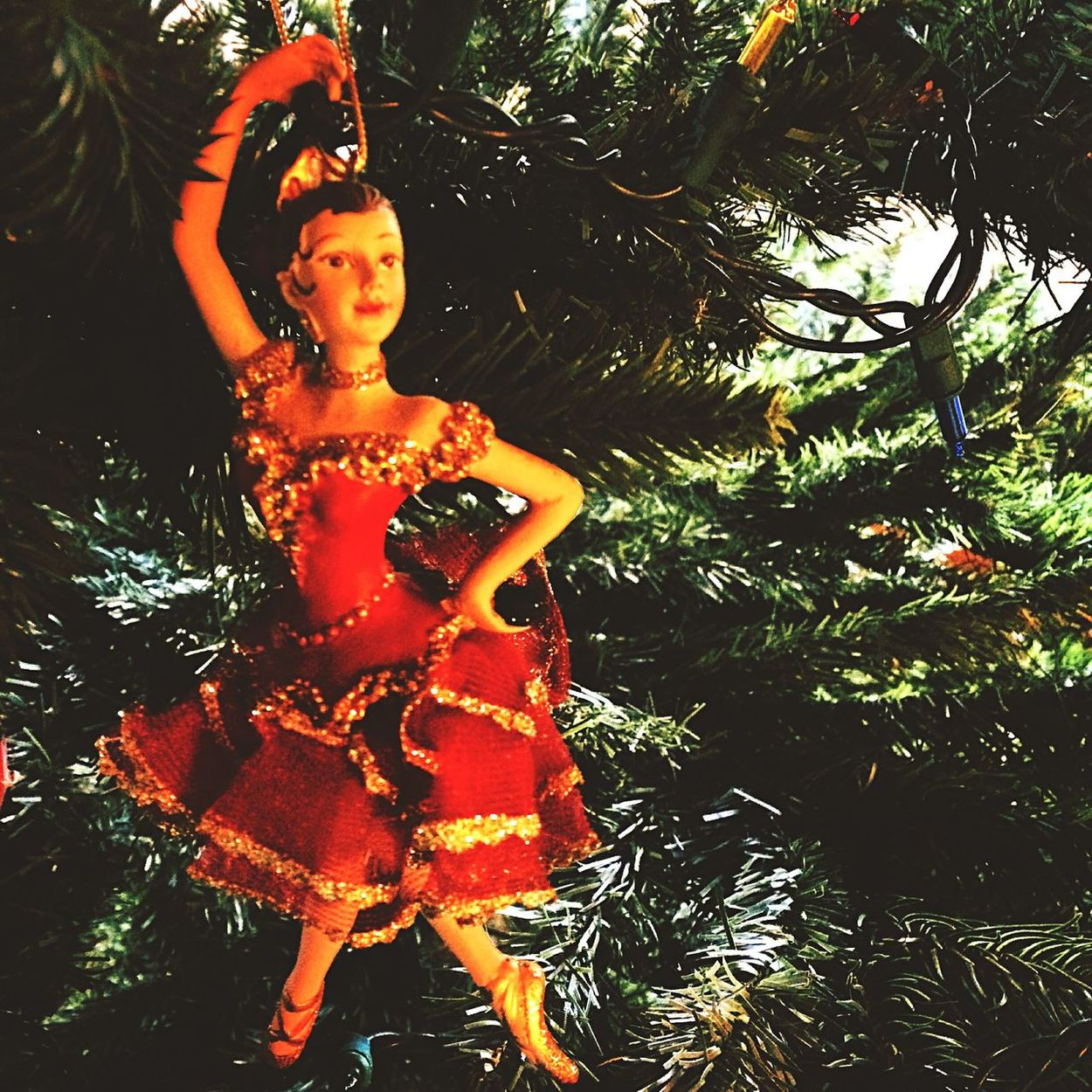 Christmas Tree #Ballet #Spanish Dancer The Nutcracker Ballet