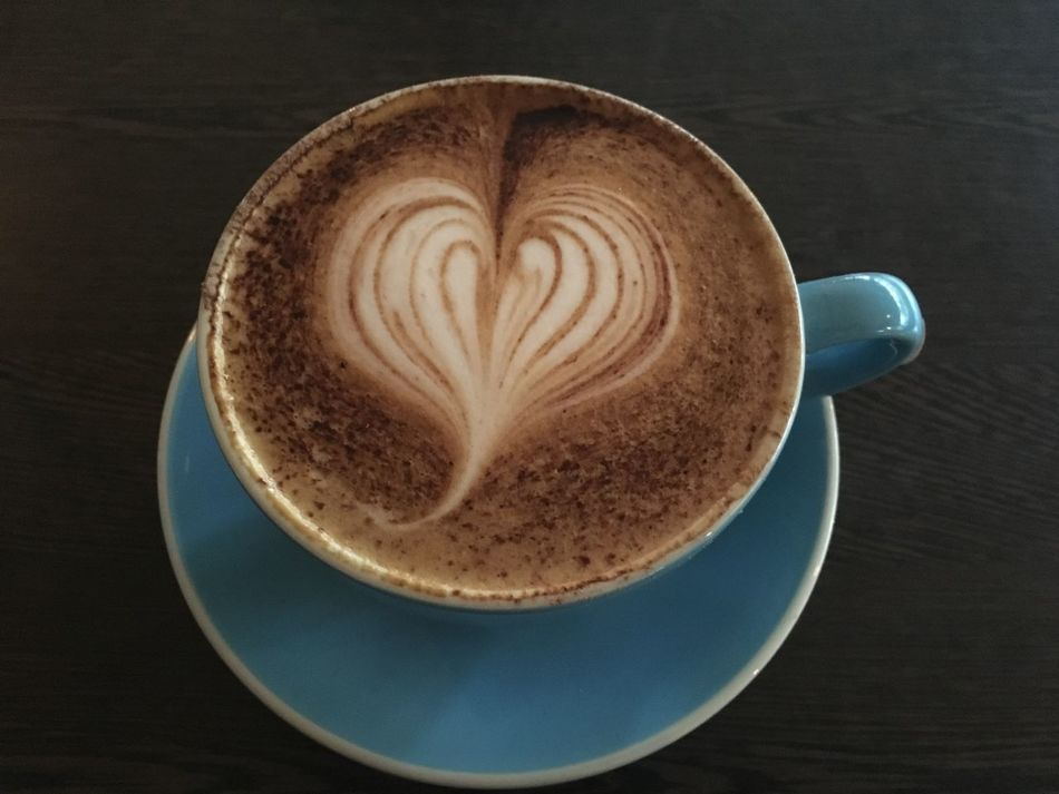Cappuccino Close-up Coffee Coffee - Drink Coffee Cup Day Directly Above Drink Foam Food And Drink Freshness Froth Froth Art Frothy Drink Heart Shape High Angle View Indoors  Latte No People Refreshment Saucer Table