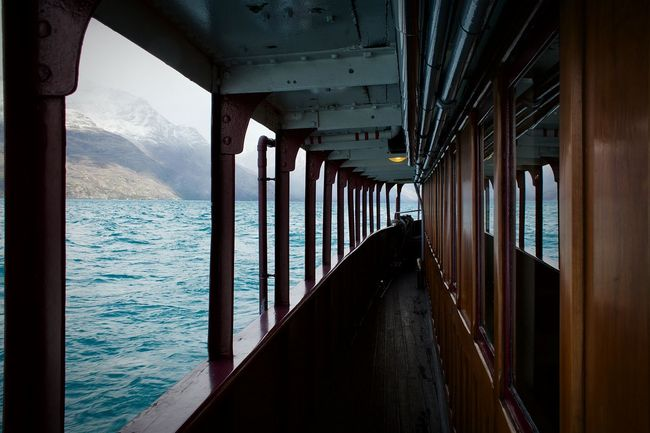 Showcase: November TSSEarnslaw Ts Earnslaw Steam Boat Boat Boats Fiordland Snow Capped Mountains South Island Queenstown Lake Wakatipu Lake View White NZ New Zealand Snow Glacier Galley Ship