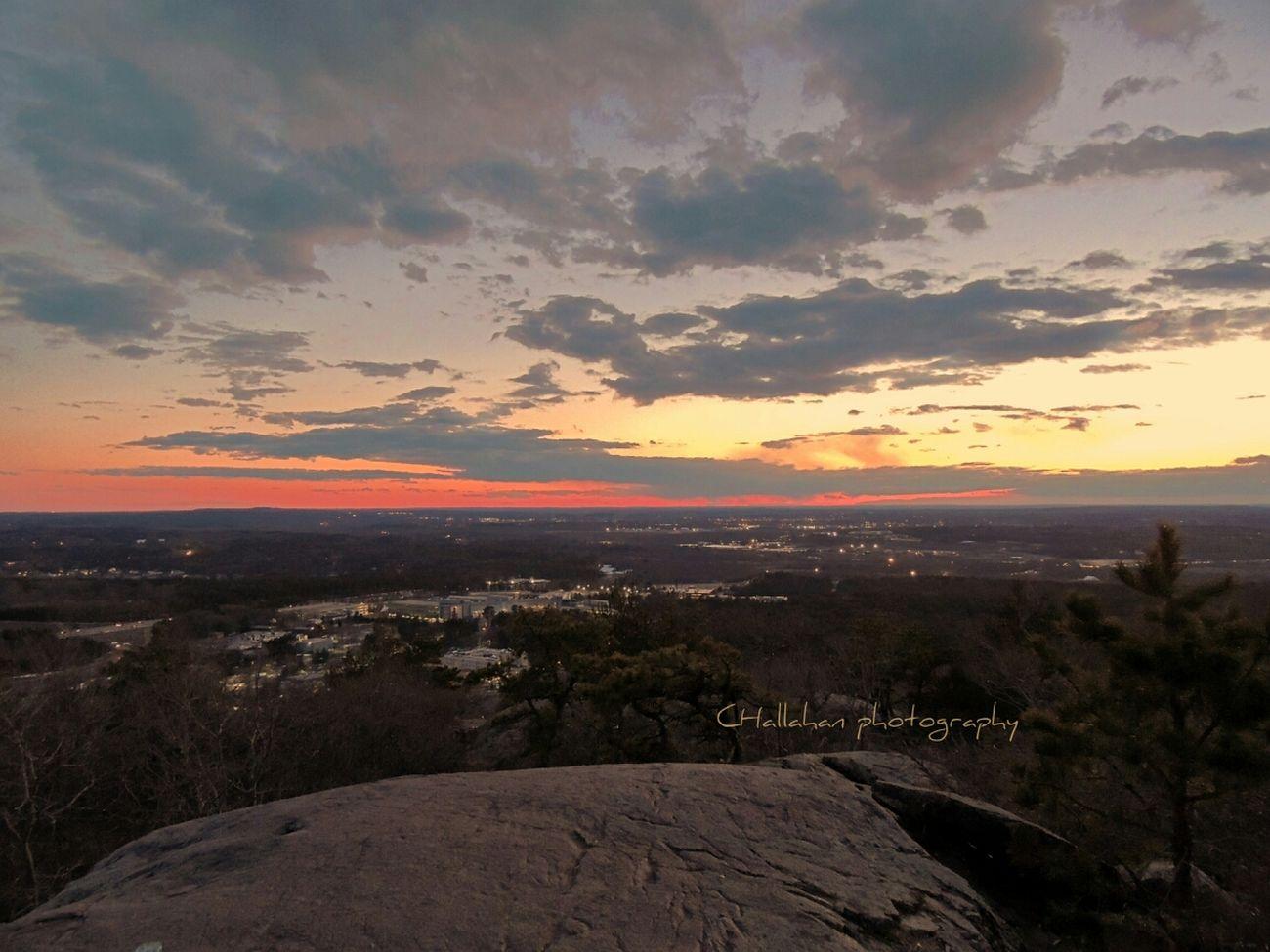 Sunset Sun Massachusetts Bluehills #sky
