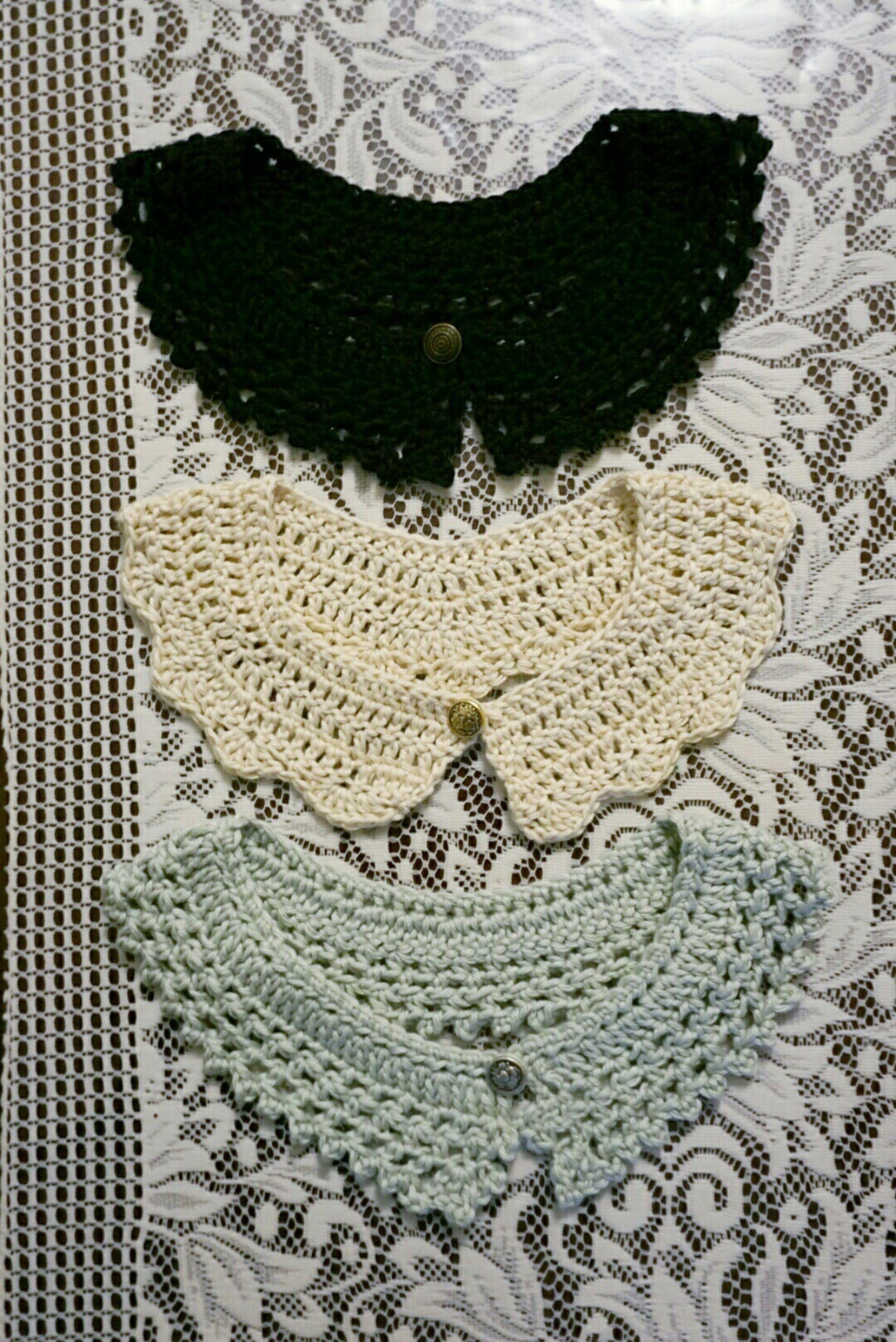 Collars Crochet Crafts Present Gift Friendsmas Christmas
