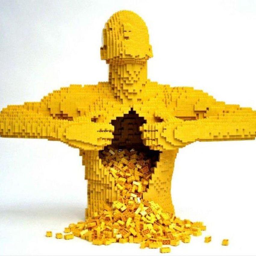 LEGO Legoart Man Art awesome