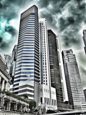 Hello world at The Fullerton Hotel Singapore by Beib