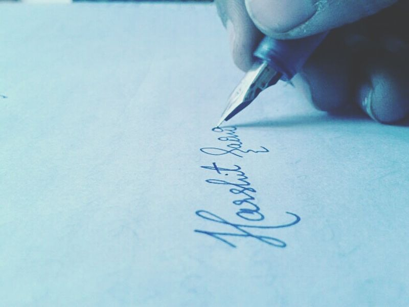 My Signature My Signature Style Paper Blue Indoors  Close-up Writing Drawing - Art Product Fountain Pen Note - Message Drawing - Activity No People Day