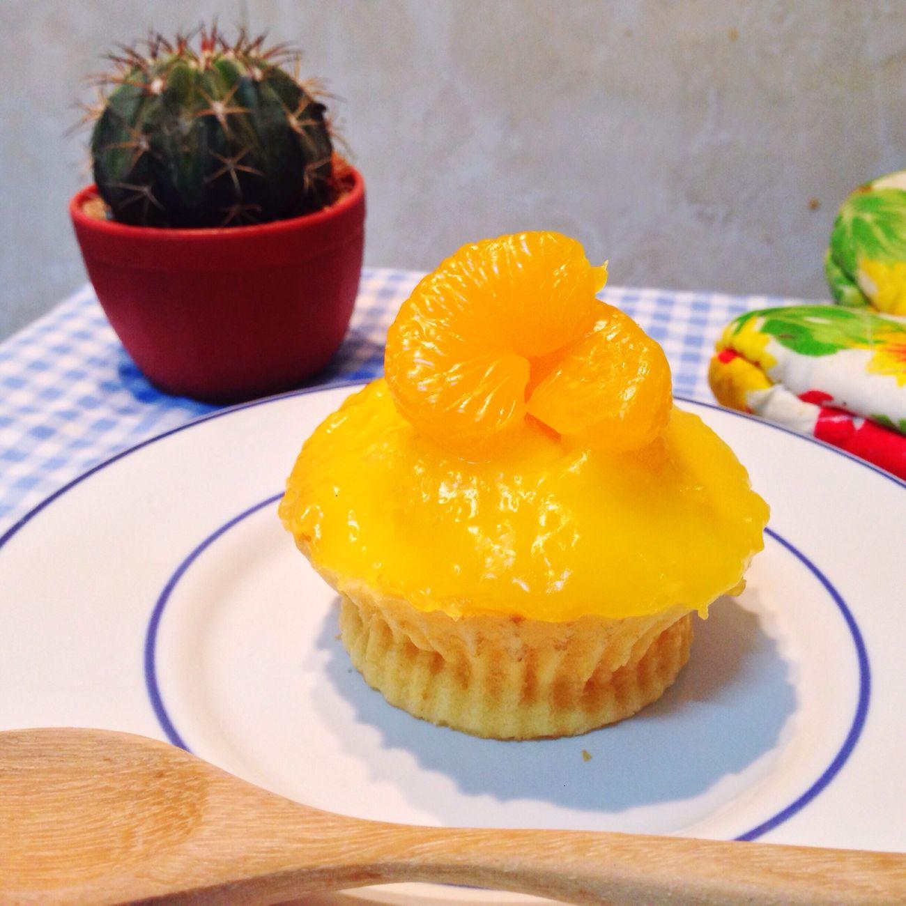 Orange Cupcake Orang Cupcakes Homemade Homemade Cake