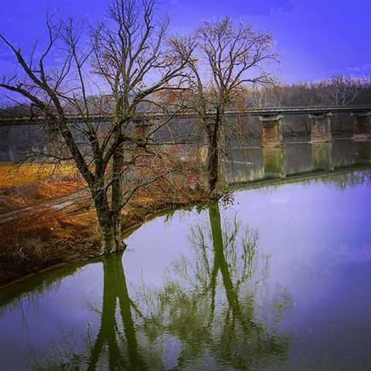 Serenity Painted Landscapes Beautiful Colors Water Reflections Williamsport, Md USA
