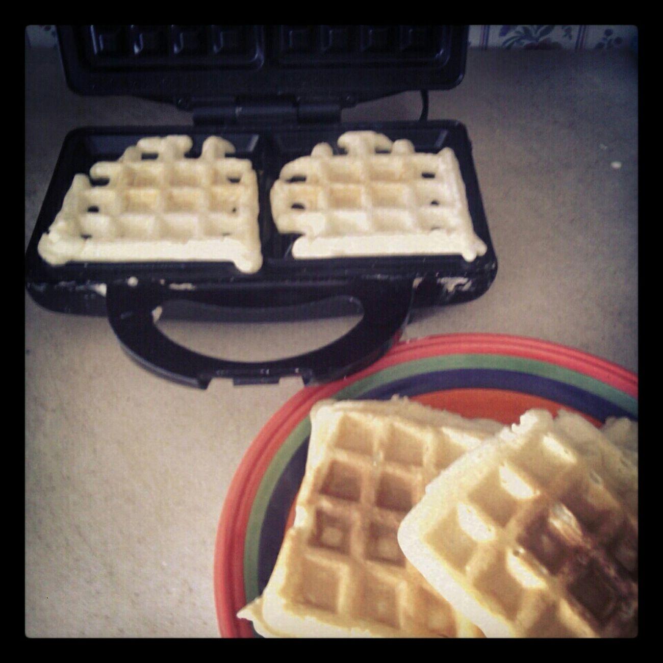 Making Waffles!