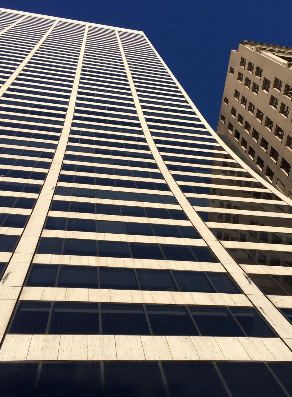 Looking up. Grace building and deep blue sky in New York. Architecture Architecture_collection Grace Building  Blue Sky Lines Lookingup My City New York I-phone Photography Building Exterior Building Buildings Abstract EyeEm Best Shots EyeEm Gallery No People Nophotoshop IPhoneography IPhone Edificio Edificios Y Fachadas Arquitectura Lineas Learn & Shoot: Leading Lines Urban Geometry