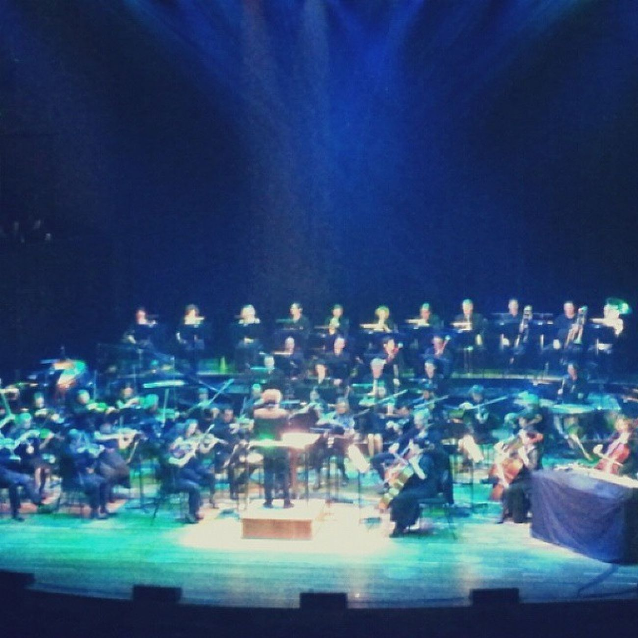Dj Jeffmills Melbourne Symphony orchestra techno music classical melbournefestival doof beautiful hamerhall