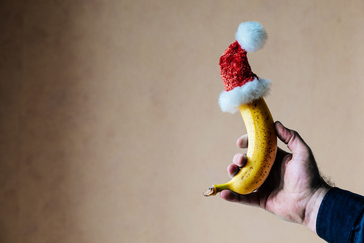 No, this is NOT a present. No, I didn't buy it here! http://swag.eyeem.com/product/this-is-a-banana This is the colored version. Adult Banana Close-up Day Holding Human Body Part Human Hand Indoors  One Person People Xmas Xmas Decorations Art Is Everywhere Break The Mold Visual Feast