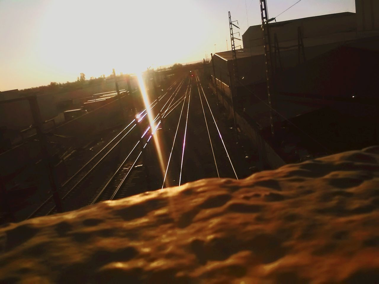 Train ☀🚅 Sky Day Sunrise Cityscape First Eyeem Photo Eyemphotography Train Tracks Train Train Ride