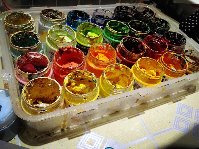 First Eyeem Photo Art Painting Paintingtool Hobby Hobbyphotography my color box. EyeEmNewHere