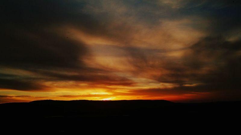 Sunsetlover Skylovers Beautiful Sky Beautiful Sunset♥♥Good Evening EyeEm