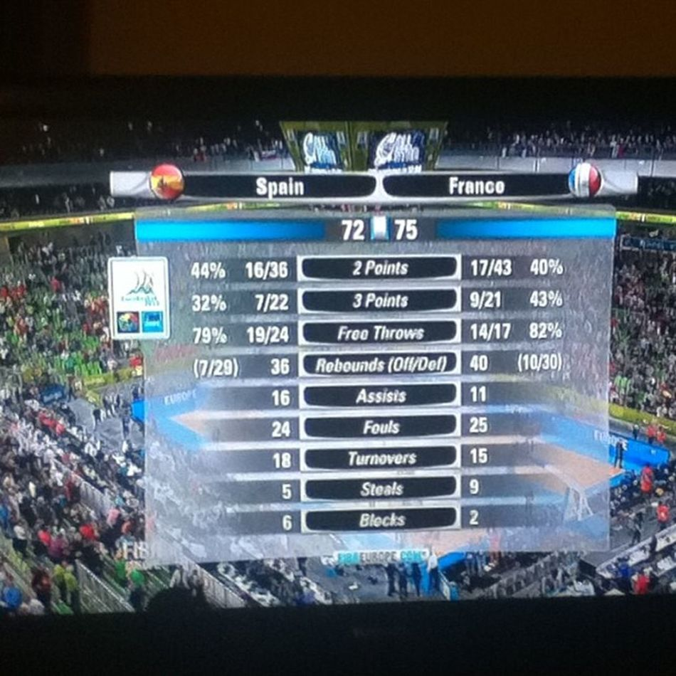 ON EST EN FINAL !!!!! MERCIIII !! Eurobasket2013