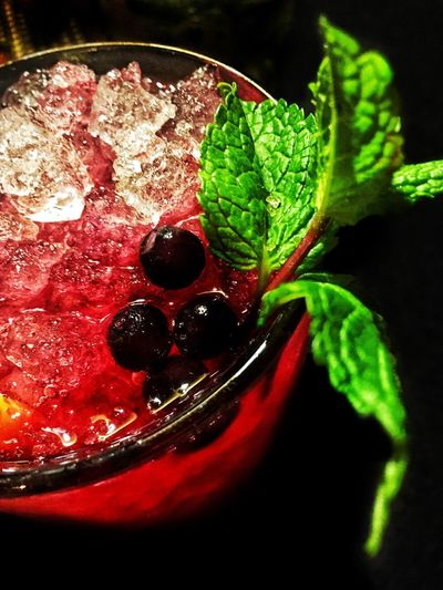 Cheers 🍹 Cocktail Time Cocktail Food And Drink Freshness Food Sweet Food Dessert Indulgence Red Close-up Indoors  No People Temptation Mint Leaf - Culinary Ready-to-eat Day