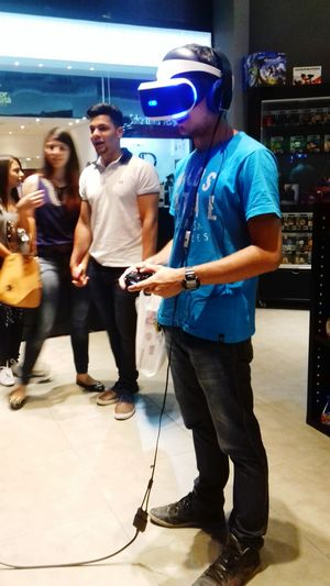 Vr Sony PS4 Game Realidade Virtual First Eyeem Photo Oculus Playstation