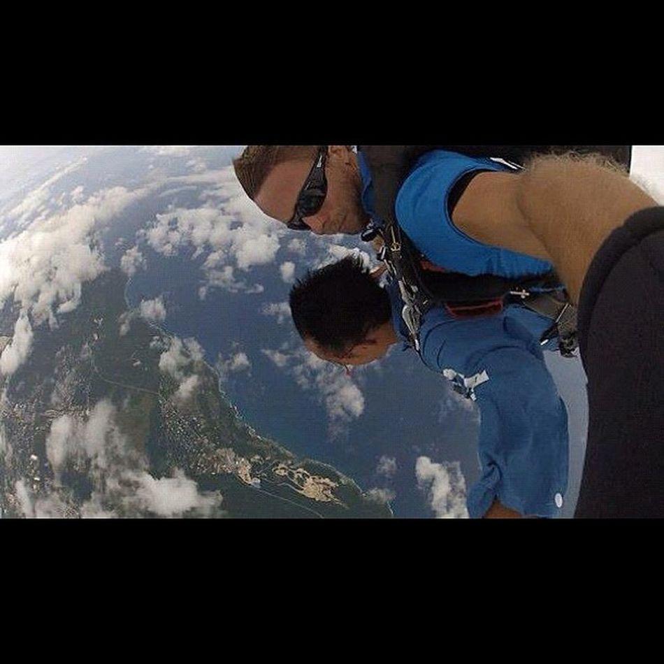 空から見る地球は最高‼ Sky Guam Gopro Skydive Webstagram Hafaadai グアム スカイダイビング ソラトビ