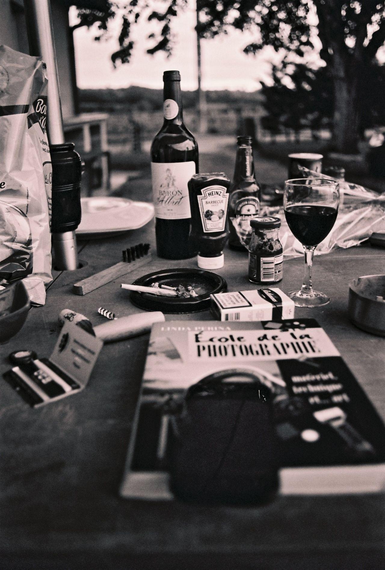 35mm Film Analogue Photography Archival Blackandwhite Bottle Chilling Drink EyeEm Best Shots Film Film Photography Filmisnotdead Food Food And Drink Ishootfilm Noir Et Blanc Table Tables