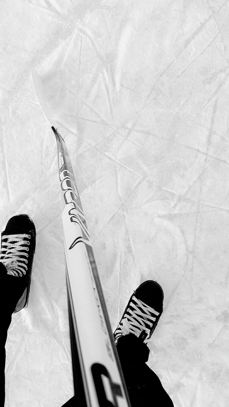 Repost Black And White Winter Snow Cold Temperature Nature Frozen No People Outdoors Day Ice Close-up Hockey Outdoor Hockey Pond Hockey