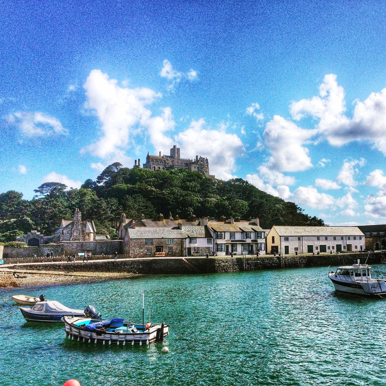 Cornwall England St Michaels Mount History Seaside Coastline