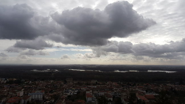 Sky Clouds And Sky Clouds Nuages Nuage☁️ Vue Panorama
