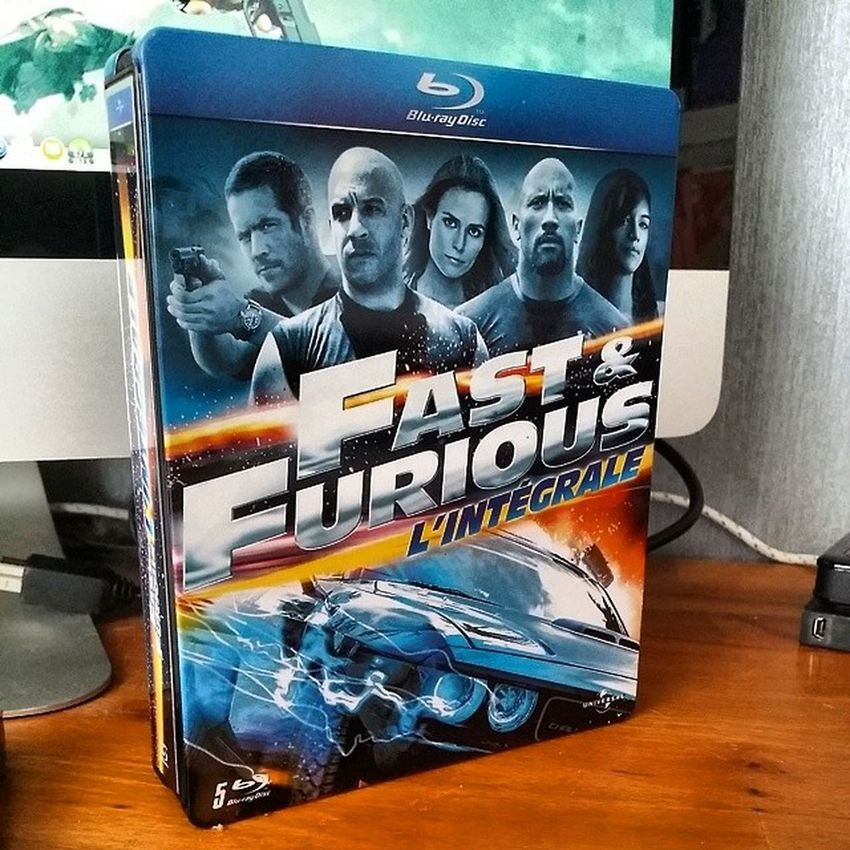 Arrivage Bluray : Fast&Furious l'Integrale Steelbook