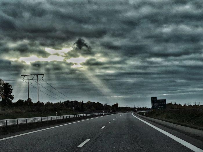 Hell (or heaven?) yeah! Clouds Sky Sunlight Filter Sweden