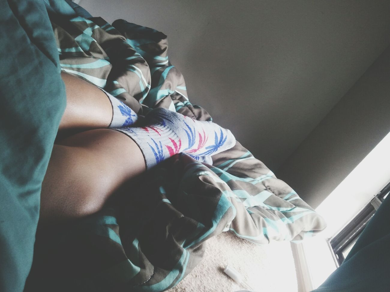 To lazt to get up. Goodmorning Huf Socks Huf Bed